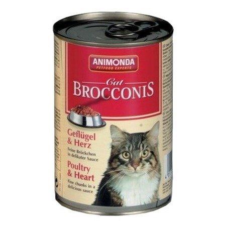 ANIMONDA Brocconis Cat puszka z drobiem i sercem 400g