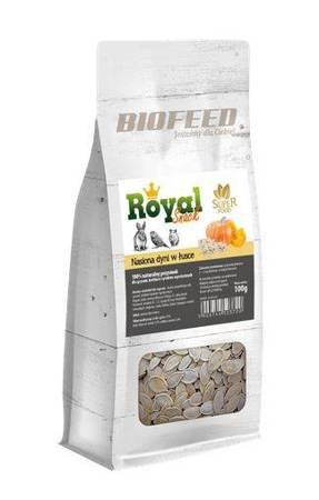 BIOFEED Royal Snack SuperFood - nasiona dyni w łusce 100g