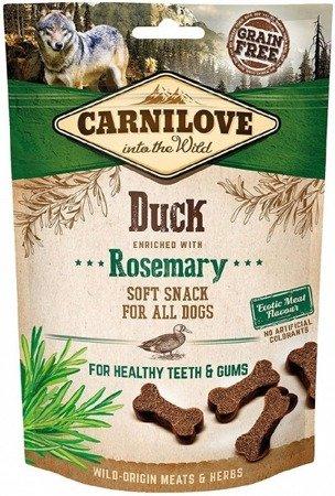 Carnilove Semi Moist Snack Duck & Rosemary 200 g, Kaczka i Rozmaryn