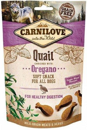 Carnilove Semi-Moist Snack Quail & Oregano 200 g, Przepiórka i Oregano