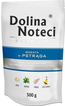 DOLINA NOTECI PREMIUM BOGATA W PSTRĄGA 500 g