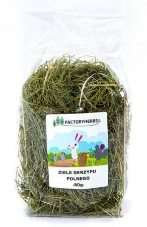 FactoryHerbs Ziele Skrzypu Polnego 80g Skrzyp polny