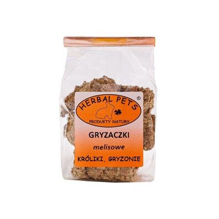 HERBAL PETS Gryzaczki melisowe 140 g