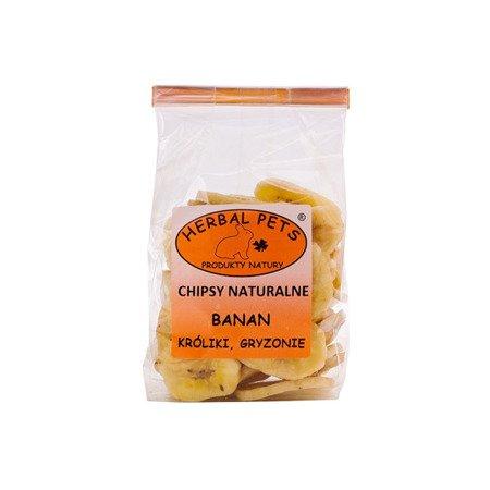 HERBAL Pets Chipsy naturalne Banan 75 g