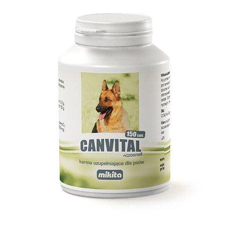 Mikita Canvital z czosnkiem tabletki 150 szt.