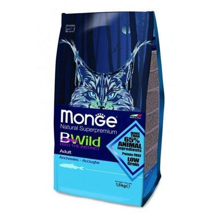 Monge BWILD ADULT ANCHOIS 1,5kg