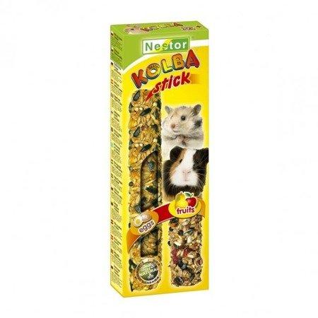"""Nestor Kolba """"2 w 1"""" dla gryzoni i królików - jajeczna i owocowa"""