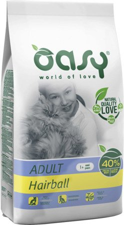 OASY DRY CAT Hairball 300g Kurczak