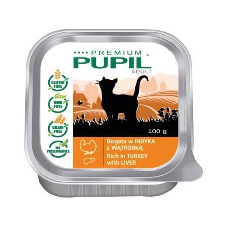 PUPIL Premium bogata w indyka z wątróbką 100g