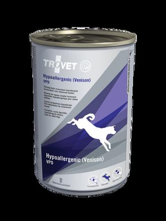 TROVET VPD Hypoallergenic Venison puszka 400g pies