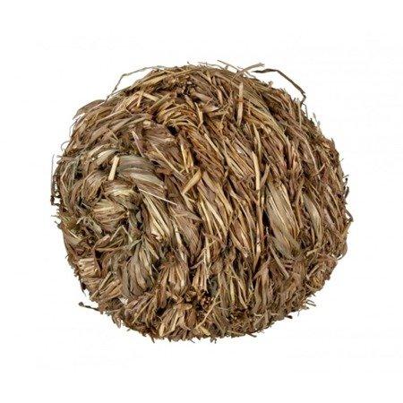Trixie Piłka z dzwonkiem z trawy , średnica 10 cm