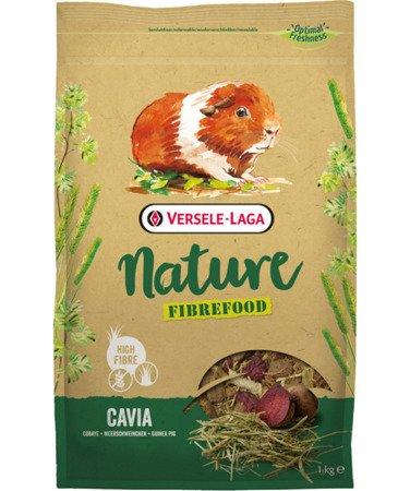 Versele Laga Cavia Nature Fibrefood 1kg - pokarm LIGHT/SENSITIVE dla kawii domowych