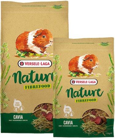 Versele Laga Cavia Nature Fibrefood 2,75kg - pokarm LIGHT/SENSITIVE dla kawii domowych