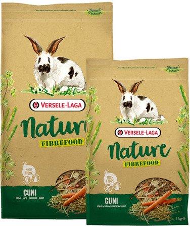 Versele Laga Cuni Nature Fibrefood 8kg - pokarm LIGHT/SENSITIVE dla królików miniaturowych