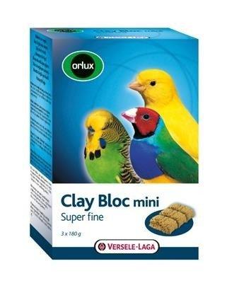 Versele Laga Orlux Clay Bloc Mini 540g - kostka gliniana dla małych ptaków