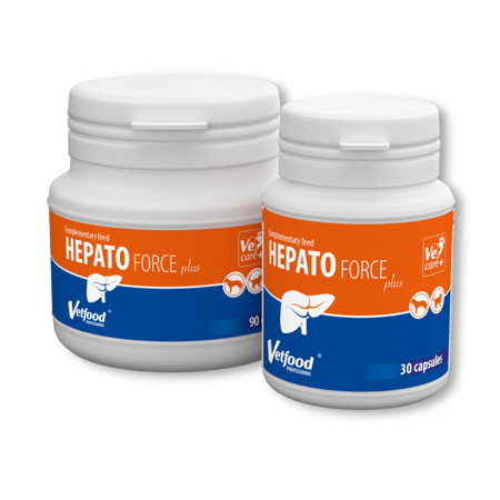 Vetfood Hepatoforce Plus 30 tabletek