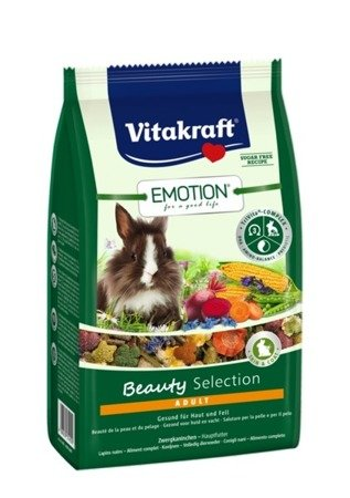 Vitakraft Emotion Beauty Selection Królik 1,5kg