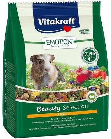 Vitakraft Emotion Beauty Selection karma dla świnki morskiej 600 g